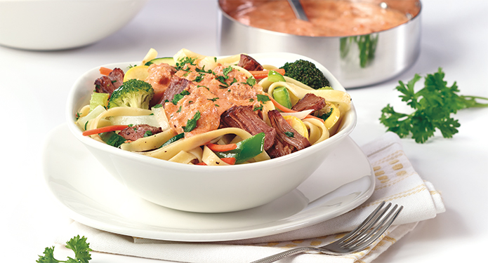 Pulled Beef Fettuccine