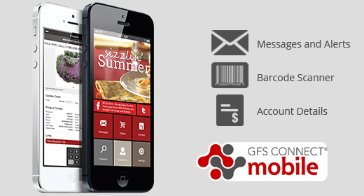 GFS Connect Mobile Banner