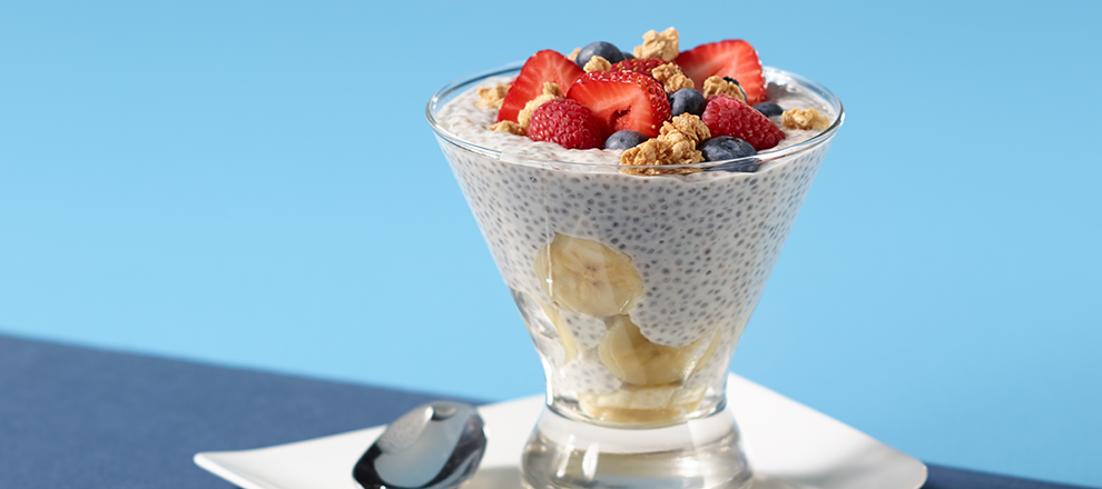 Chia Seed Breakfast Pudding