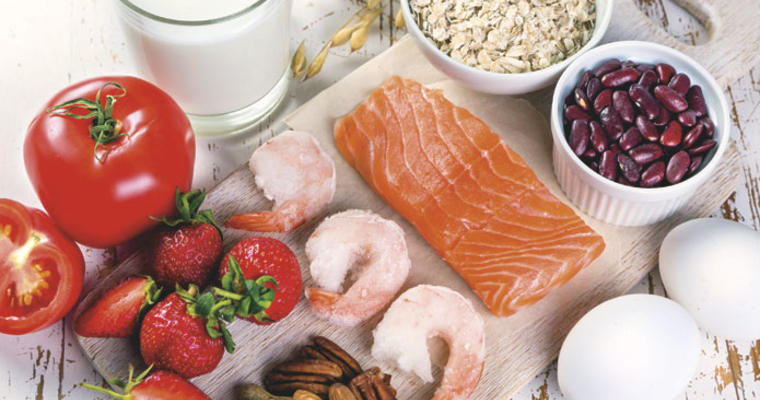 Foods commonly related to allergies