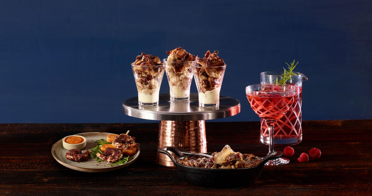 Holiday appetizers, desserts and beverages for menu limited-time offer opportunities
