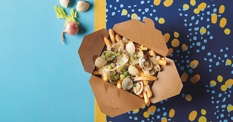 Clam Chowder Poutine