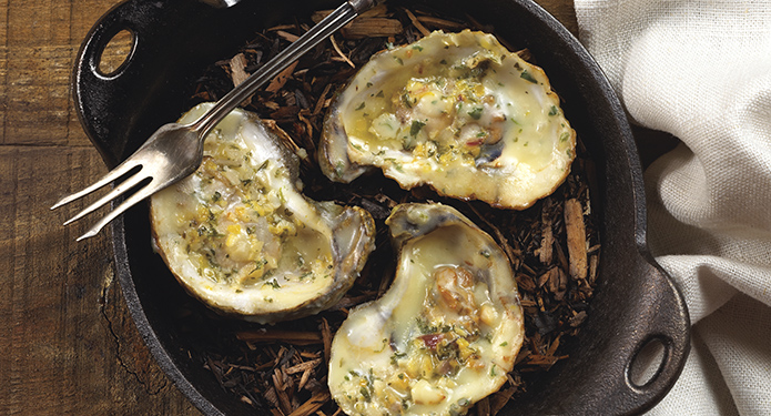 baked oysters for the holiday menu