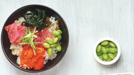 Poke, a traditional Hawaiian dish, is a culinary trend