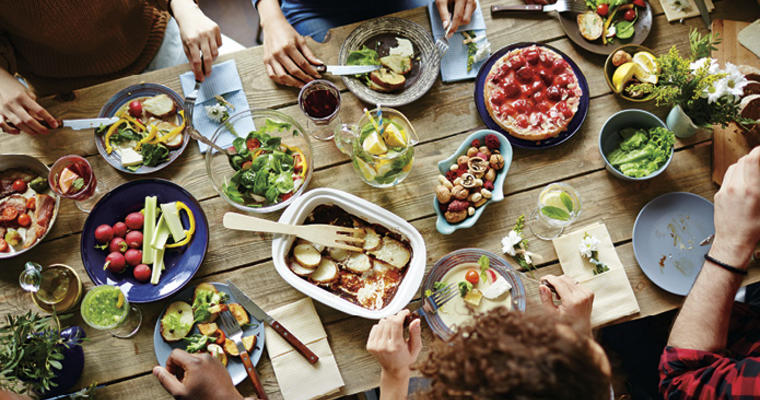 Cultural food connections are good for the body and the mind, linking to happy memories and traditions.