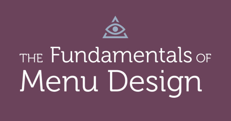 Fundamentals of Menu Design