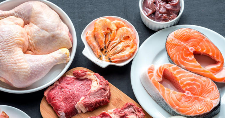 Safety considerations for meat, fish and poultry